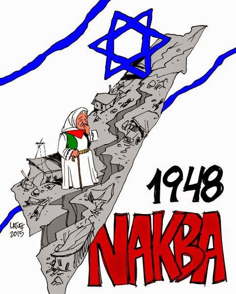 67 anod da Al Nakba, a catástrofe palestina - 1948-2015