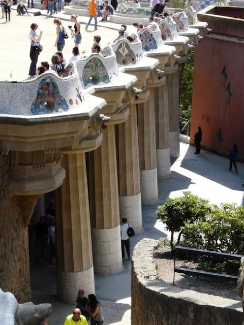 Park Guell wBarcelonie