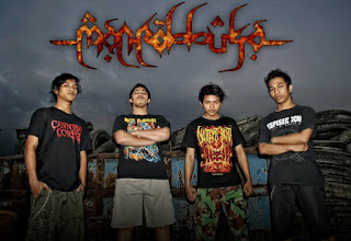 Manrobbuka Band death Metal Kediri