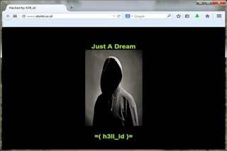 Wow, Situs ID-SIRTII atau Pengawas Internet Indonesia Lagi dihajar Hacker