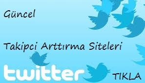 Twitter Takipci Arttirma Siteleri