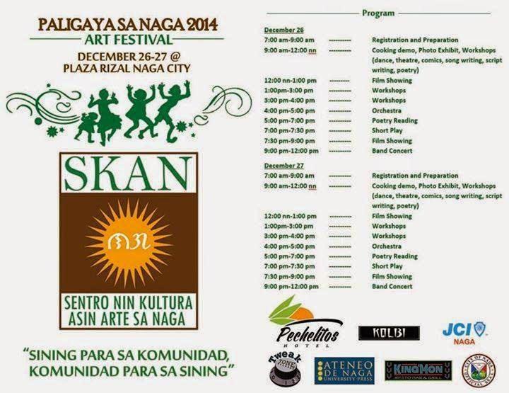 Paligaya sa Naga 2014 schedule