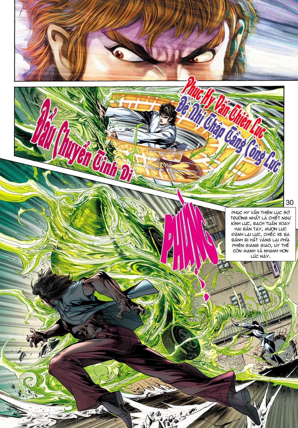 Tân Tác Long Hổ Môn chap 343 - Trang 30