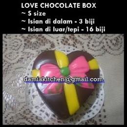 Coklat Love Mini (S saiz)
