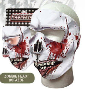 Zombie Feast Neoprene Face Mask