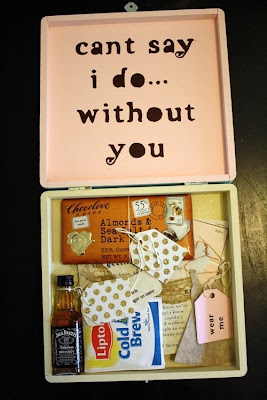 Belindaselene Will You Be My Bridesmaid Diy Gift Box