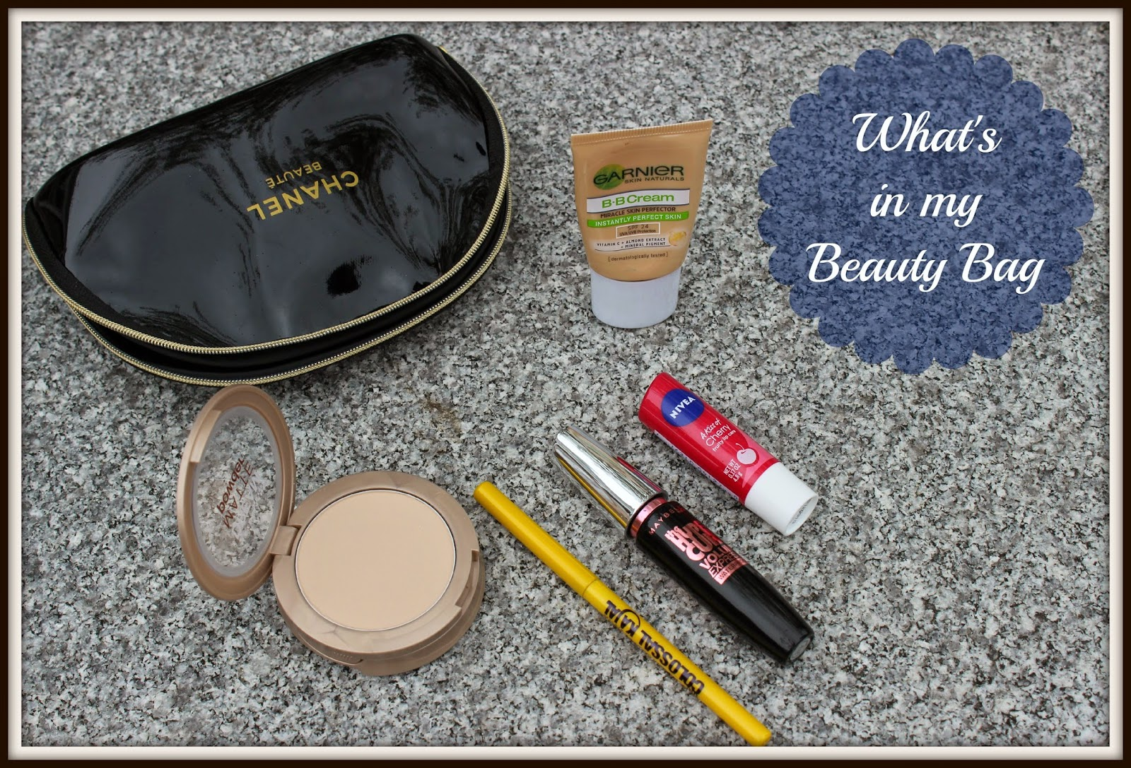 Take Care Tuesdays!! What is in my Beauty Bag!