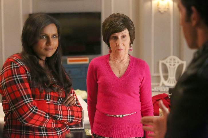 The Mindy Project - Episode 3.09 - How to Lose a Mom in Ten Days - Promotional Photos