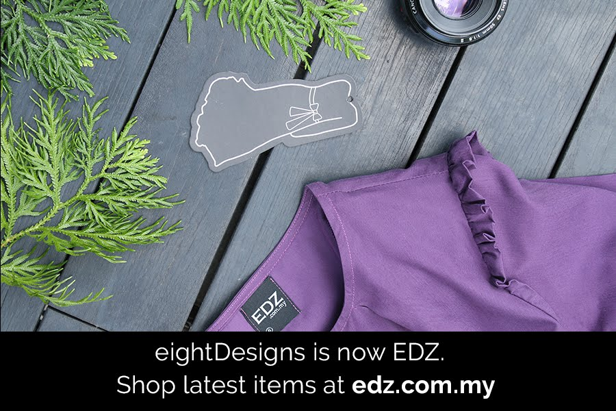 EDZ eightDesigns Malaysia's online shopping muslimah modest modern fashion
