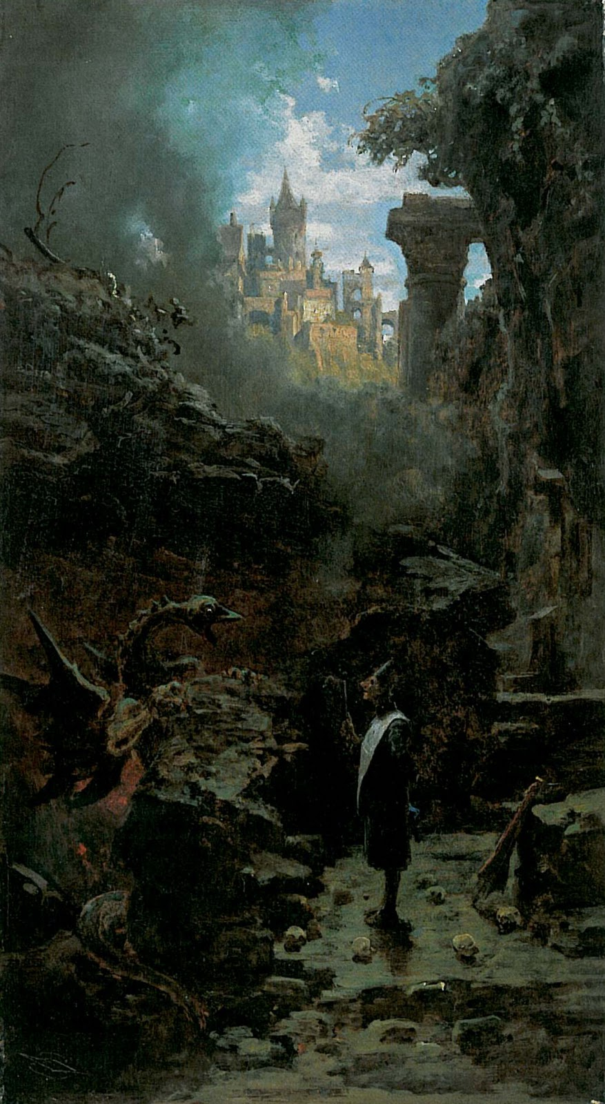 carl spitzweg witch