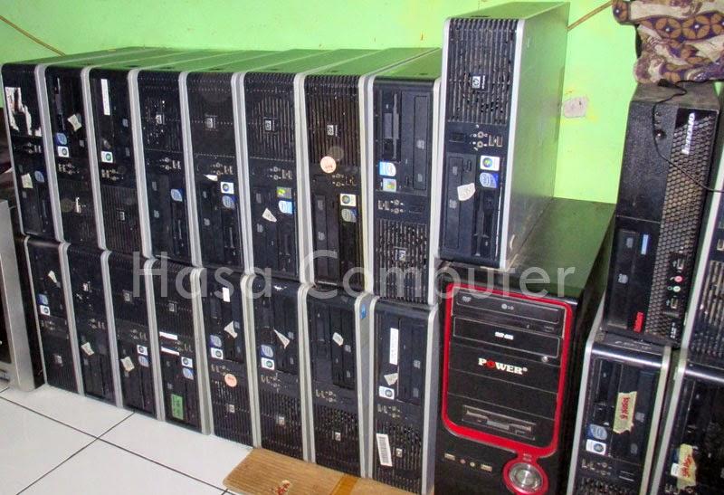 Jual komputer pc merk HP Compaq dc7800