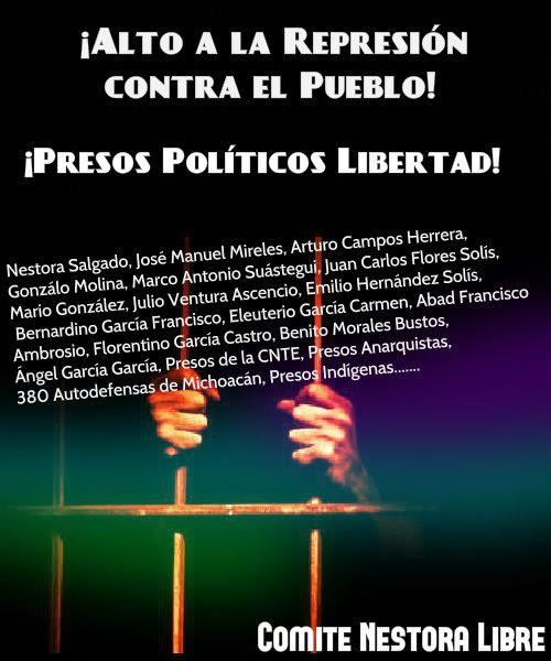 ¡Alto a la Represión vs. el Pueblo!