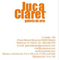 Obra permanente en la Galería Juca Claret (Madrid)