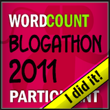 2011 Blogathon - I Did It!