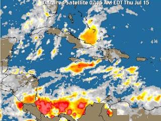 Meteorología informa seguirán las lluvias