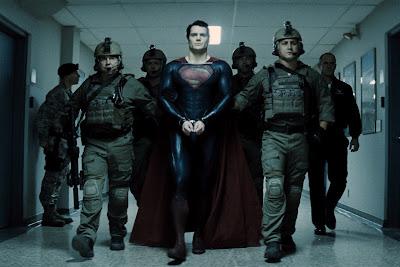 Man of Steel Superman Handcuffs