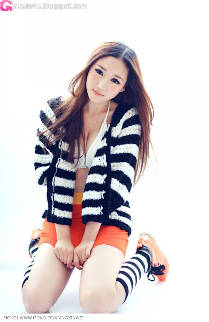 5 To Xinwei - warm winter photo-very cute asian girl-girlcute4u.blogspot.com