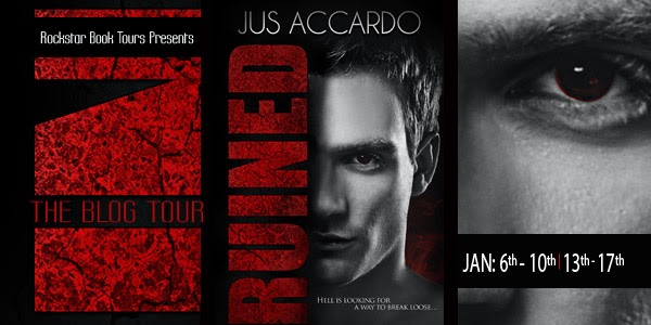 Blog Tour, Review and Giveaway: Ruined by Jus Accardo