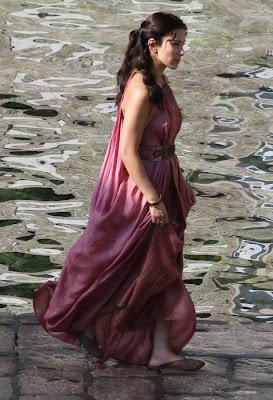 Shae rodaje tercera temporada Juego de Tronos - Juego de Tronos en los siete reinos
