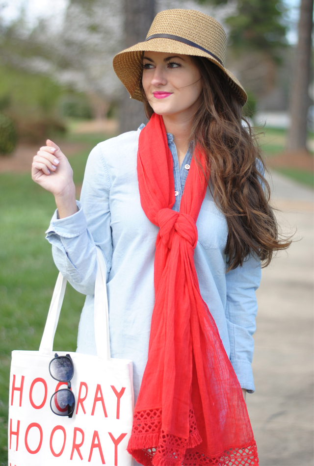 Perfect spring look when the weather is still a little chilly