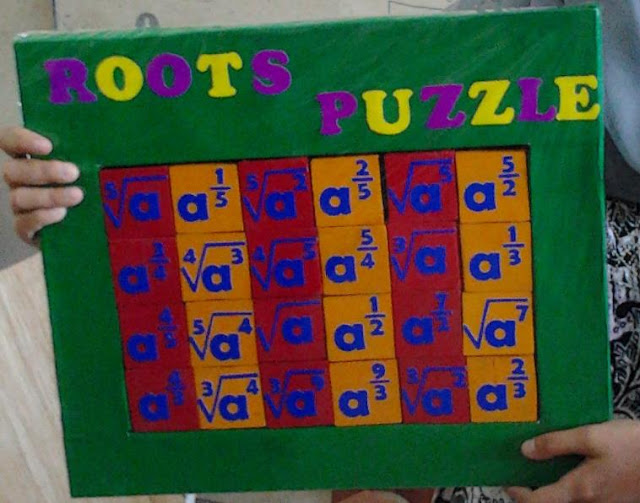 My World Roots Puzzle Alat Peraga Untuk Matematika
