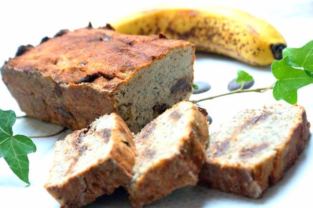 Pain de bananes sans sucre sans gluten