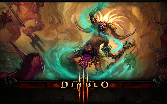 diablo 3 iii demon hunter barbarian