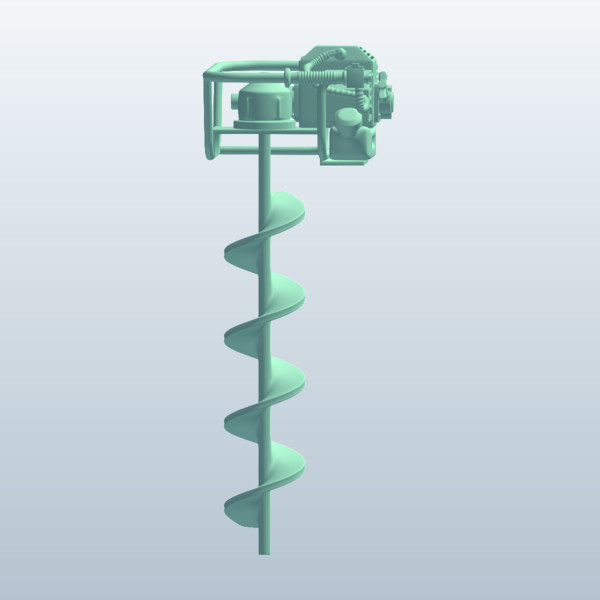Gasoline Auger Drill8