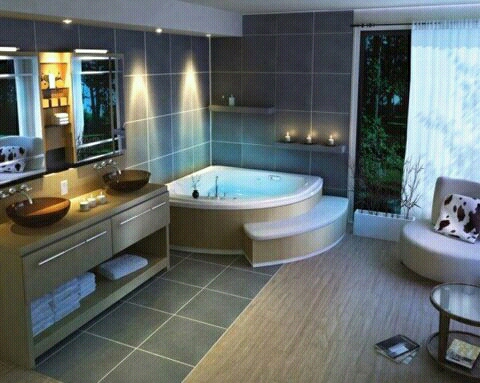 Modern homes beautiful bathrooms designs ideas new home for Beautiful modern bathrooms