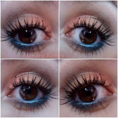 make coral com azul