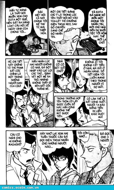 Detective Conan - Thám Tử Lừng Danh Conan chap 512 page 5 - IZTruyenTranh.com