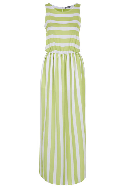 green white stripe dress,