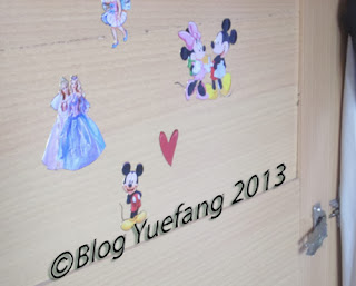 Barbie_Disney_character_sticker_on_wardrobe