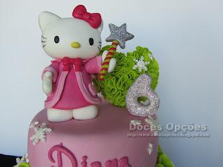hello kitty cake sugar paste