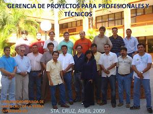 STA. CRUZ, BOLIVIA, ABRIL 2009