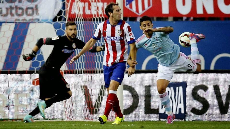 Celta-Atlético de Madrid, septiembre de 2014