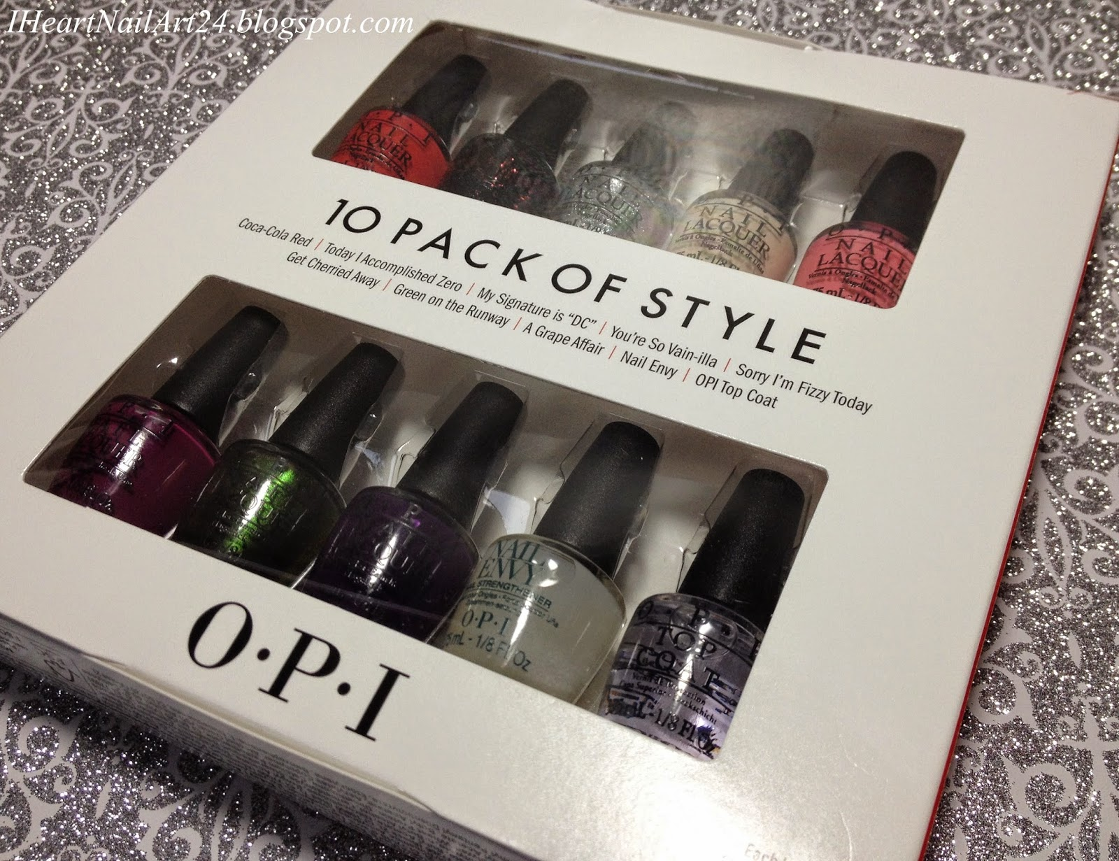 I Loved The Box Set It Came Out To A Way Better Price Than Buying Full Sized Bottles Separately Plus You Get Two Little Of Nail Envy And Top Coat