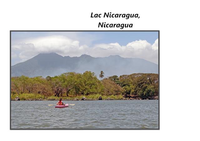 Le lac Nicaragua au Nicaragua