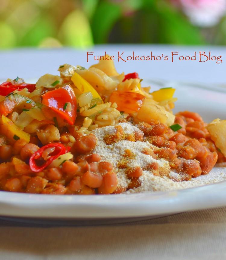 Flaked hake funke koleosho 39 s new nigerian cuisine for Fish n gari