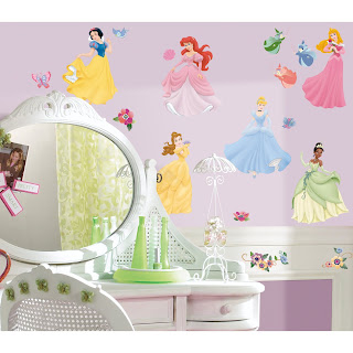 [RoomMates] RoomMates RMK1470SCS Disney Princess Peel & Stick Wall Decals with Gems Reviews