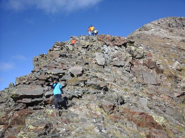 Bajando del Pic de Perafita (2.752m)