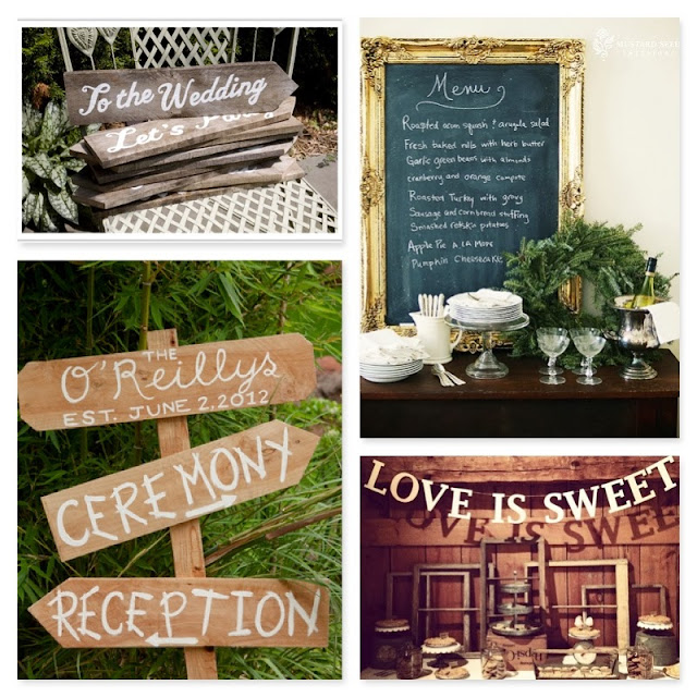 http://theclaytononthepark.com/diy-wedding-signage-2/