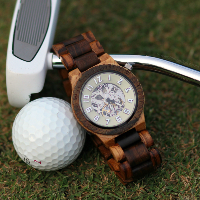 The Gorgeous Dover Watch in Zebrawood & Cream from JORD Wood Watches. www.pitterandglink.com #jordwatch