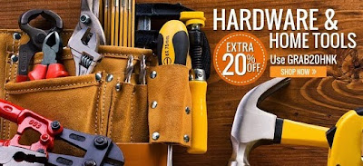Extra 20% off on Hardware & Home Tools @ HomeShop18