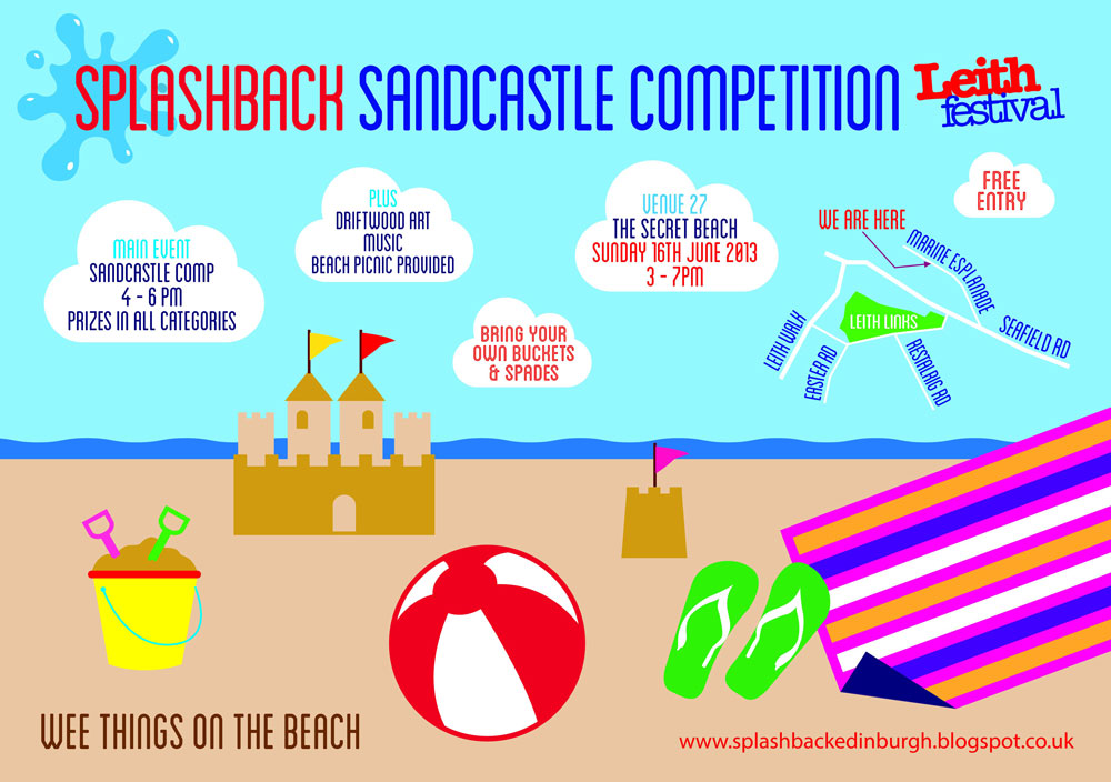 Splashback Sandcastle Competition
