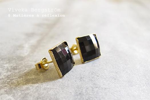 Boucles cristal Viveka Bergstrom