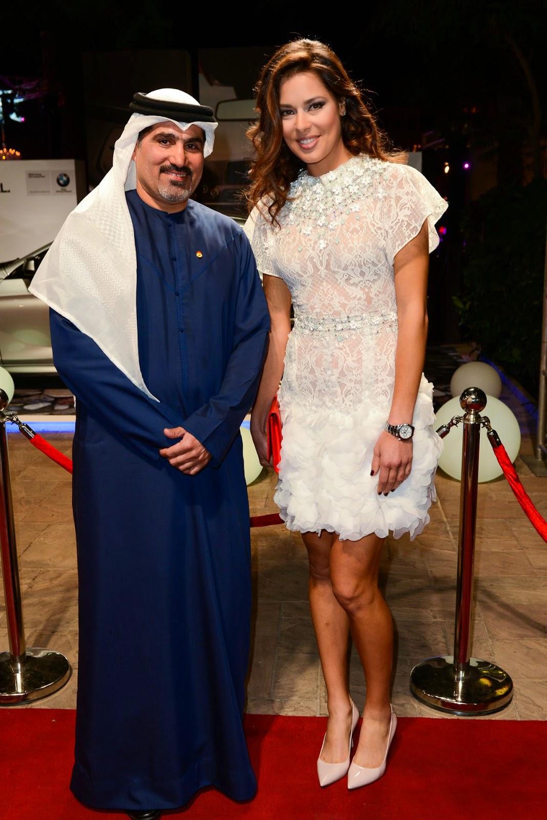 صور لاعبة التنس الصربية آنا ايفانوفيتش في افتتاح مهجران دبي السينمائي 2014