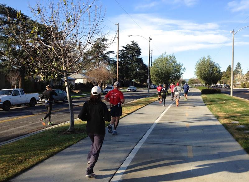 T2 Runners marathon training