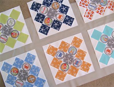 Quilt using Going Coastal by Emily Herrick for Michael Miller Fabrics