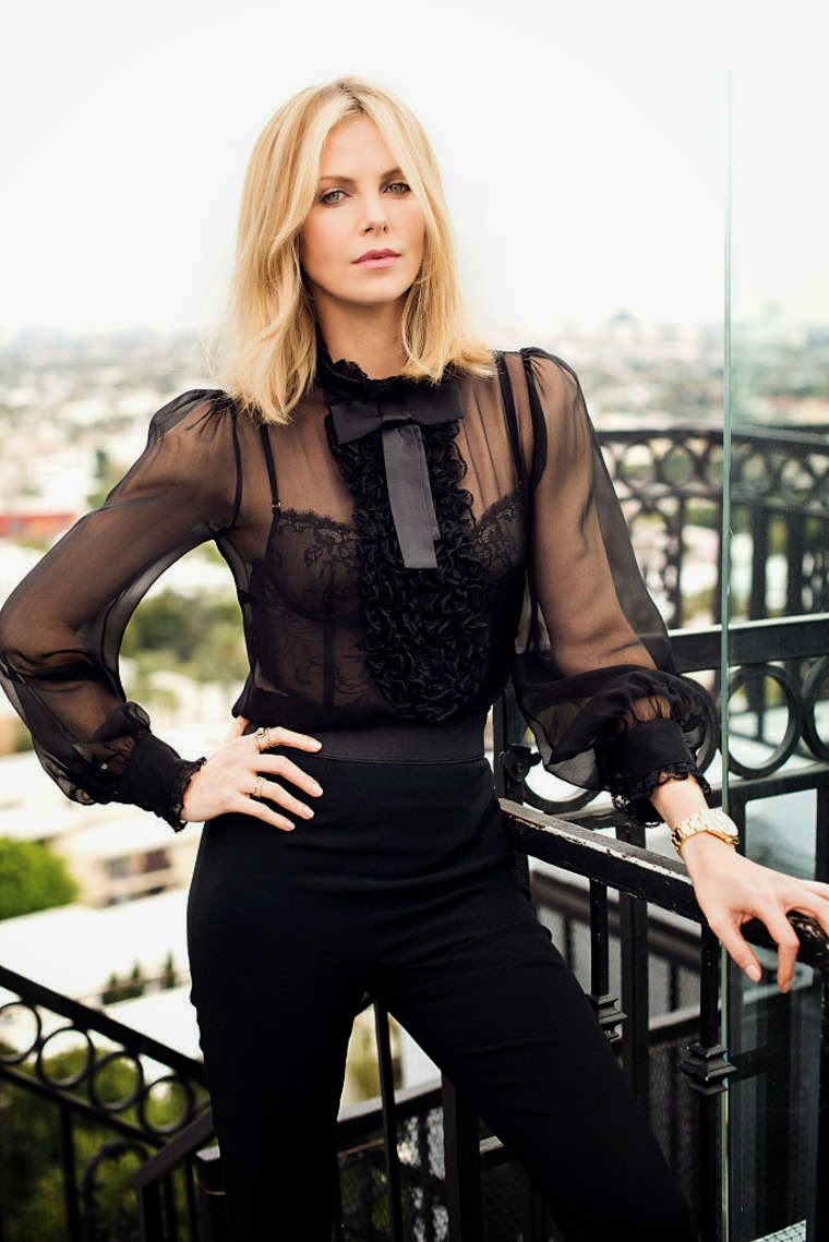 Actress @ Charlize Theron - By Jeff Vespa Photoshoot 2015